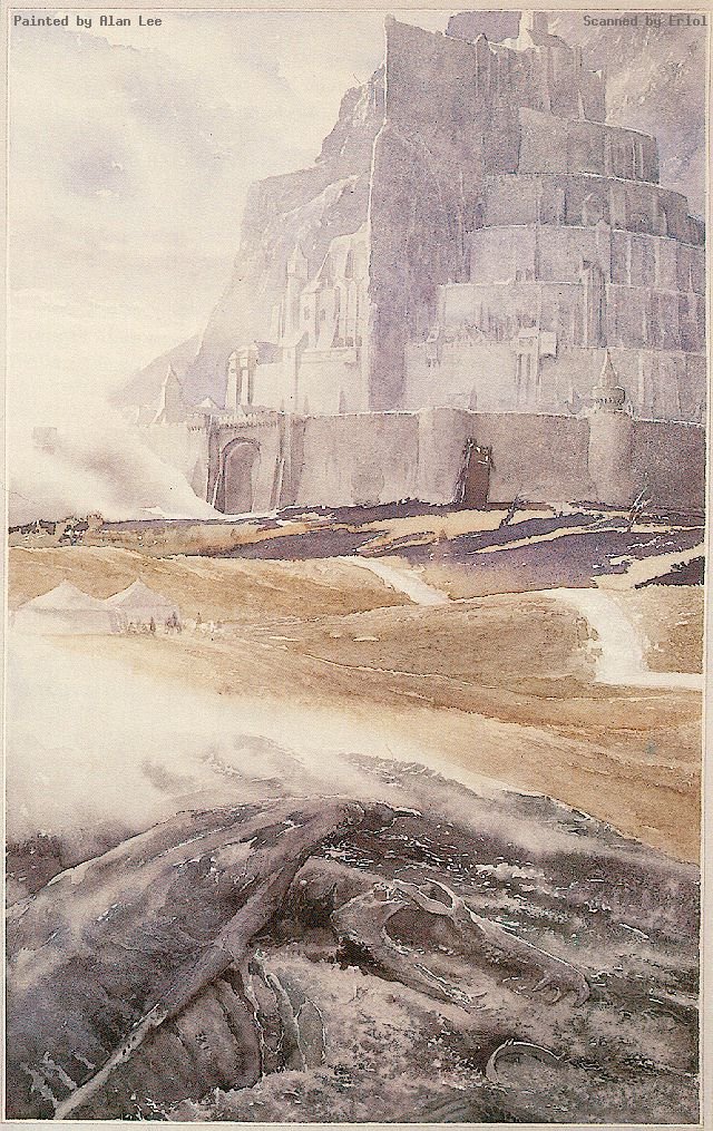 Alan Lee - Minas Tirith (1)