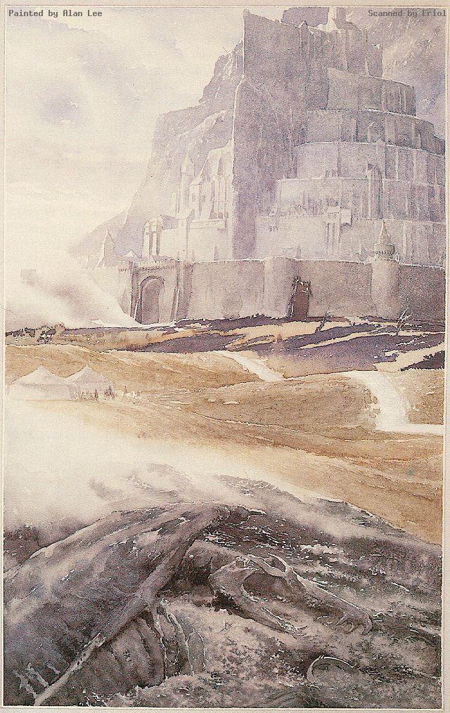 Alan Lee - Minas Tirith (1)