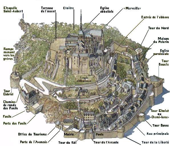 Mont-St-Michel Particolari