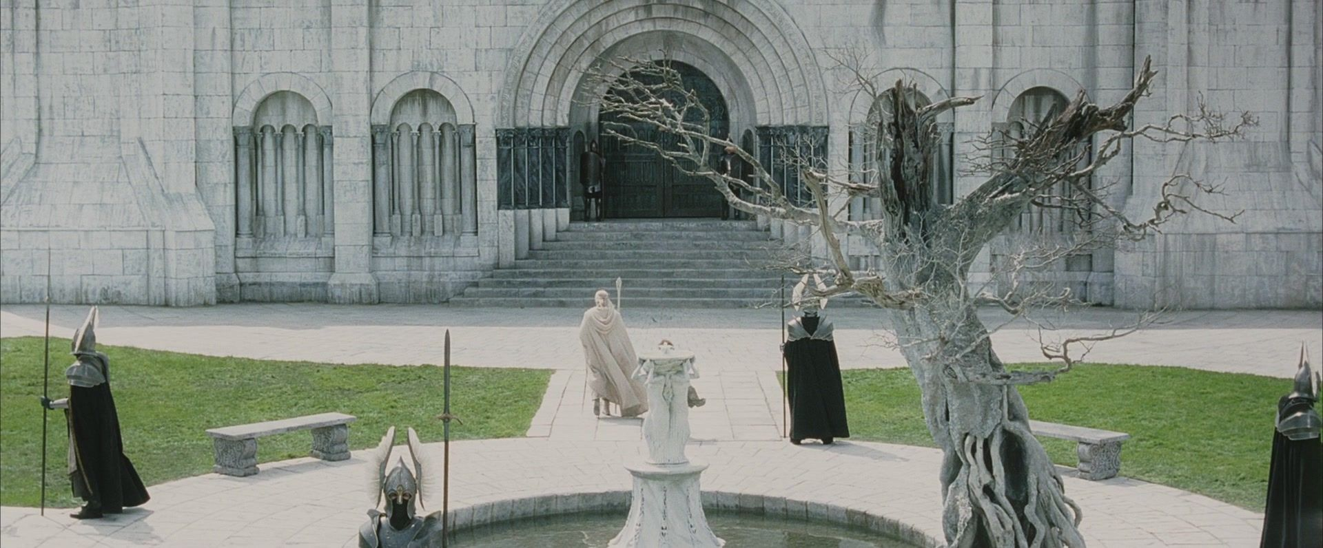 Image result for lord of the rings minas tirith tree