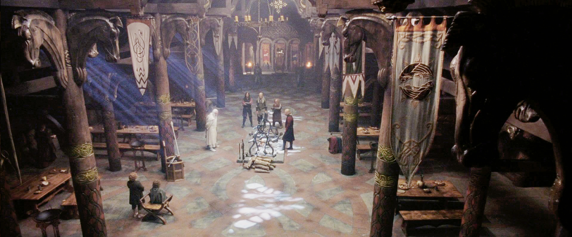 golden hall of meduseld 'keep these well,' he said, 'for they come from the golden wood and the lady of  lothlórien gave  a king will have his way in his own hall, be it folly or wisdom.